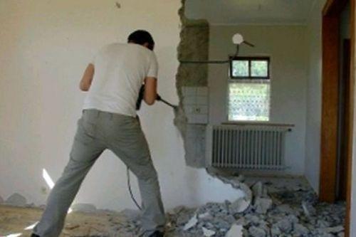 Демонтажные работы при ремонте