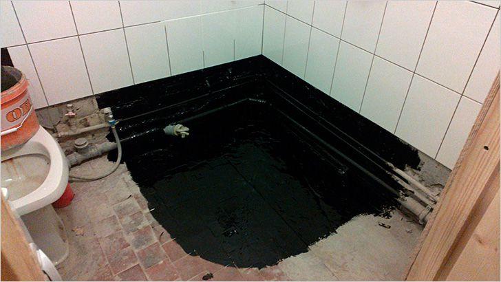 Come fare una doccia senza un vassoio di tegole fare un piatto