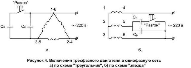 Am einfachsten ist der Anschluss des Asynchronmotors. Wie es ...
