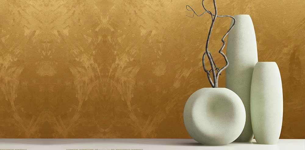 Wenn Sie Wände Mit Dekorativen Farben Dekorieren, Können Sie Den Effekt Von  Samt, Seide, Perlglanz Oder Goldenem Glanz Erzeugen. Besonders Beliebt Sind  Die ...